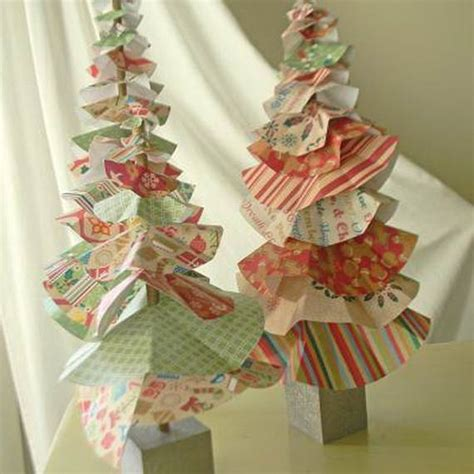 Handmade Tree Decorations Ideas - handmade paper craft decorations family
