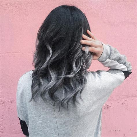 gray ombre hair process best 25 grey ombre hair ideas on pinterest black and