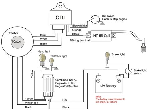 xs650 simplified wiring harness diagrams auto fuse box