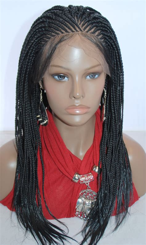 front braids hairstyles how to braided lace front wig cornrow color hair pinterest