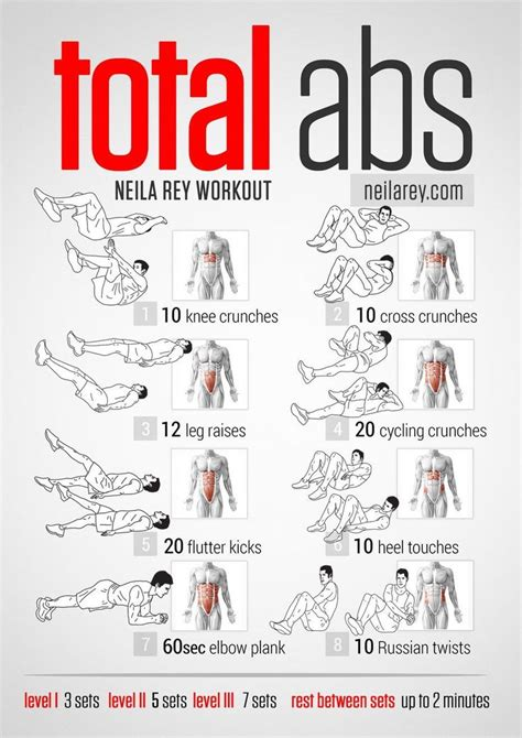 total abs workout  abs upper abs obliques rectus