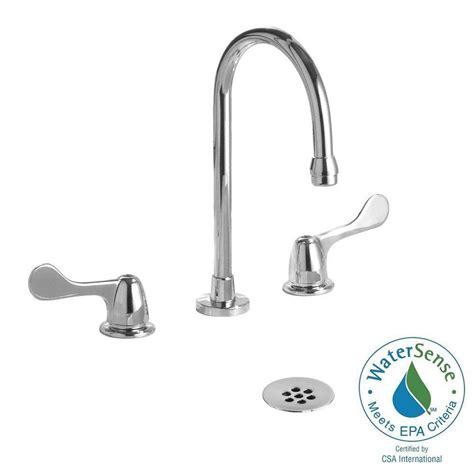 Delta Commercial Faucet by Delta Commercial 8 In Widespread 2 Handle Bathroom Faucet