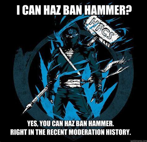 Ban Hammer Meme - site unavailable