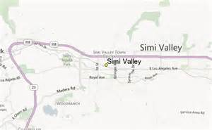 map of simi valley california simi valley weather station record historical weather