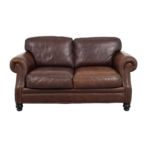 brown leather loveseat sofa loveseats used loveseats for sale