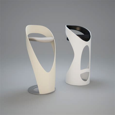 designer bar stool i3dbox modern bar stool