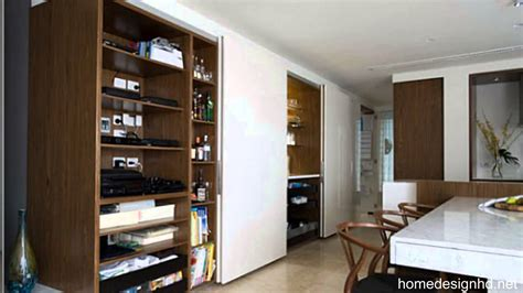 small space solutions hidden kitchen  minosa design hd youtube