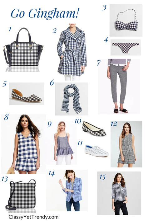 Goin Gingham by Trends Archives Yet Trendy