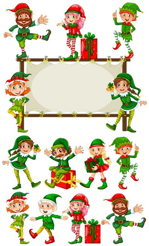 printable elf borders elf vectors photos and psd files free download