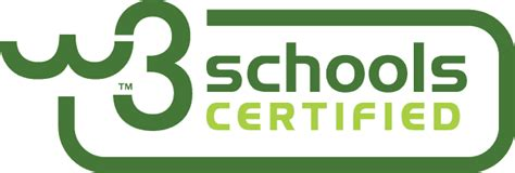 w3school w3schools certification