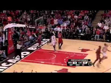 derrick rose house not in my house derrick rose block on mario chalmers game 5 may 26 2011 youtube