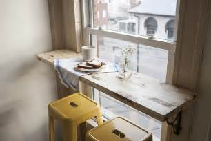 Small Breakfast Bar Table The Cafe Corner A Small Space Diy Offbeat Inspired