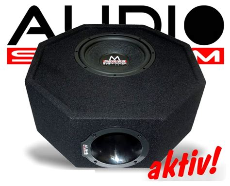 Aktiv Subwoofer Auto Remote by Audio System Reserveradmulde Subwoofer M10 Active