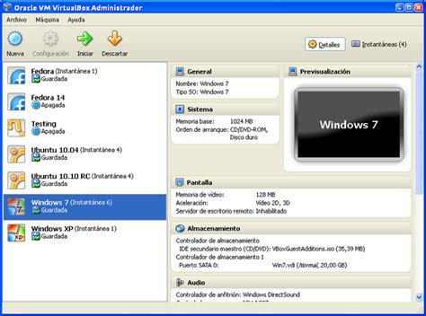 imagenes para virtual box instalaci 243 n y manejo de virtualbox en linux usuario linux