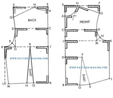 pattern making bodice how to draft fitted bodice pattern making com