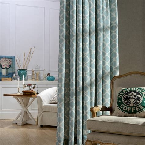printed curtains living room modern printed decoration blackout curtains for living