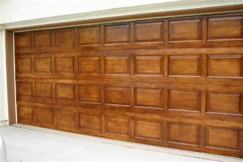 Faux Finish Garage Doors By Off The Wall Faux Finishing In Faux Finish Garage Doors