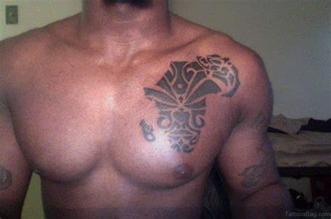 left chest tattoo 38 stylish map tattoos on chest