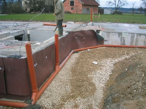 drainage am haus verlegen unser haus drainage hinterf 252 llung