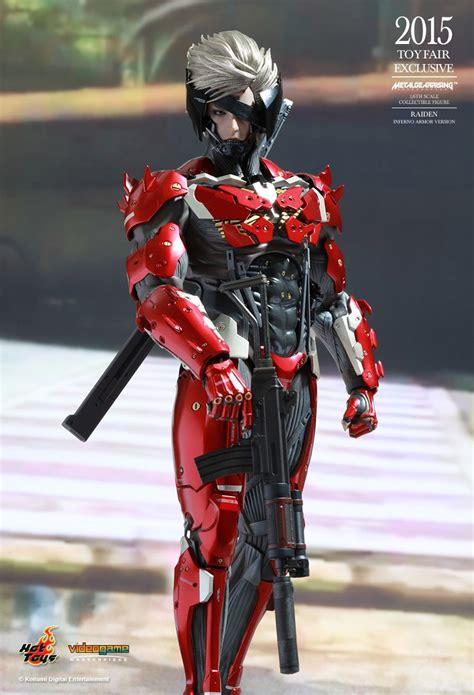 Toys Ht Metal Gear Rising Raiden Special Edition raiden inferno edition metal gear rising revengeance