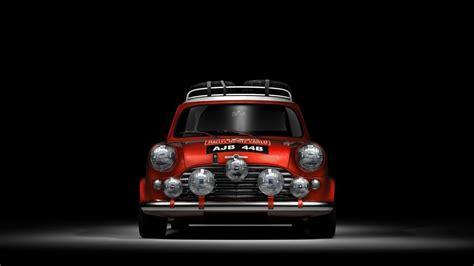 Morris Car Wallpaper Hd by Mini Cooper In A Space