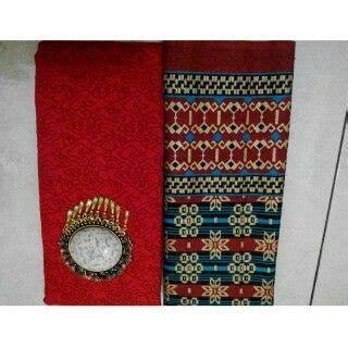 Cek Batik Kain Exc Prima Batik Motif Batik Sogan Bunga jual kain batik