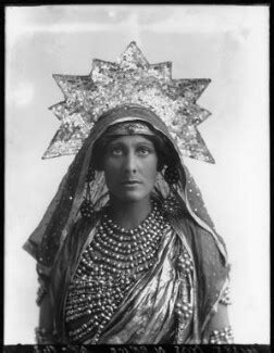 nancy price npg x103406 nancy price as india in crown of india