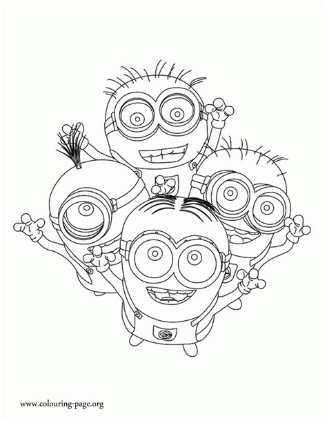 minions coloring pages of phil minions coloring pages of dave coloring home