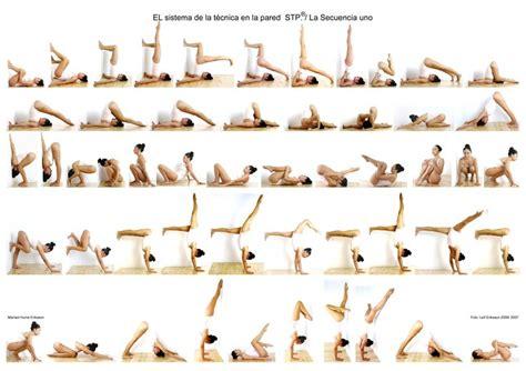 secuencias de yoga yoga el sistema de la t 233 cnica en la pared secuencia uno el sistema de la t 233 cnica en la