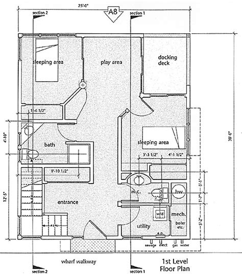 floating home house plans