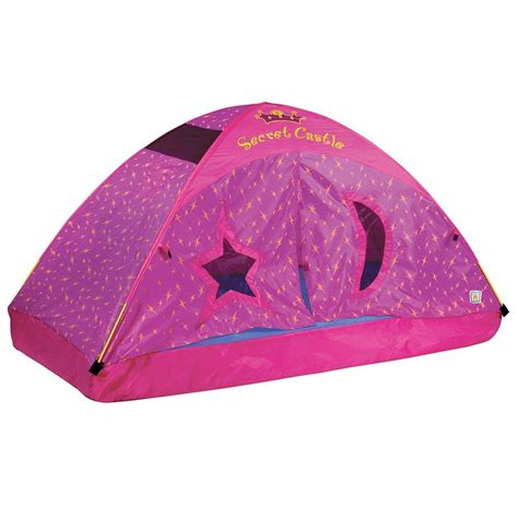 kid bed tent amazon com pacific play tents kids secret castle bed tent