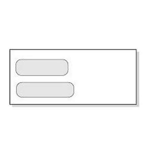 standard window envelope template security tint window envelopes
