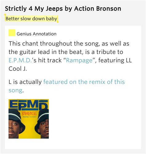 Strictly 4 My Jeeps Better Baby Strictly 4 My Jeeps Lyrics Meaning