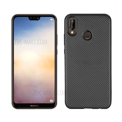 Huawei 2i Softcase Texture Carbon Casing Cover Silikon Tpu Carbon Fiber Texture Tpu Mobile Phone For Huawei P20