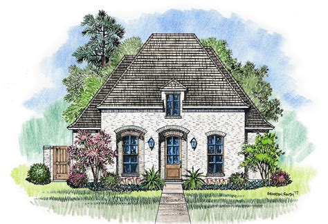provincial home plans design cajun cottage house