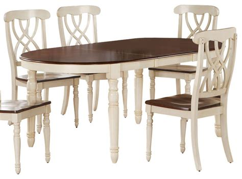 Antique White Dining Table by Monarch Specialties 60 X 42 Dining Table In Antique White Traditional Dining Tables