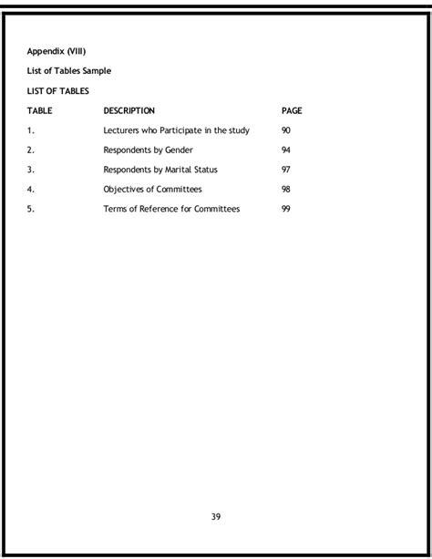 dissertation appendix do appendices dissertation
