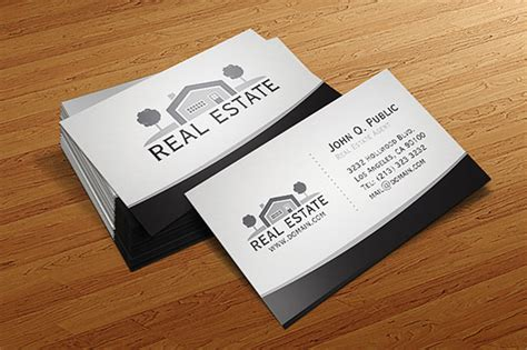 real estate business card templates free 30 real estate business card templates tutorial zone