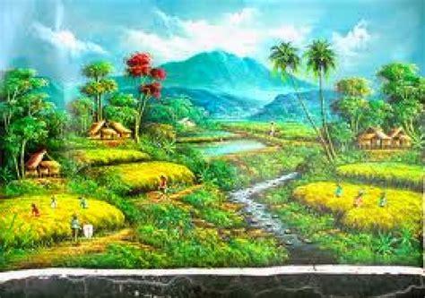 wallpaper pemandangan alam kartun koleksi wallpaper gambar kartun pemandangan alam gambar
