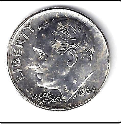 1964 silver roosevelt dime us mint uncirculated grade ebay