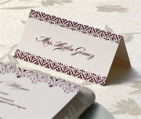 place card for wedding reception place cards for wedding reception tables letterpress