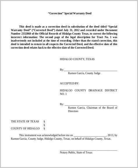 warranty deed form warranty deed form pdf form resume exles