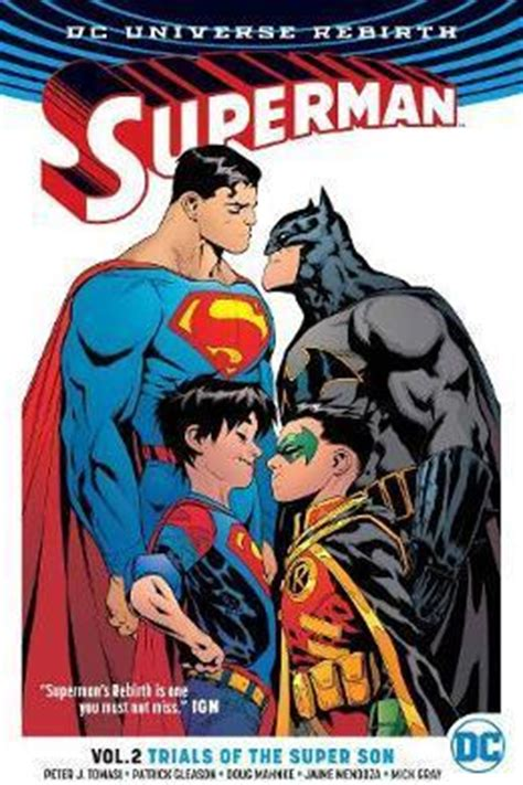 sons vol 1 when i grow up rebirth sons rebirth superman tp vol 2 trial of the sons