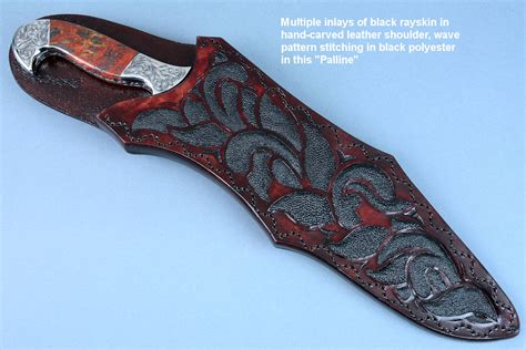 knives and sheaths knife sheaths for custom and handmade knives by fisher