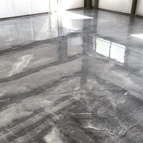 Metallic Floor Metallic Flooring Systems Seal Krete High