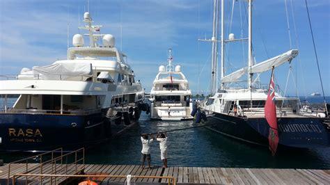 surprising superyacht anchorages  indonesia asia