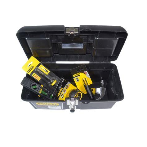 cassetta attrezzi stanley cassetta portautensili 40cm stanley con utensili