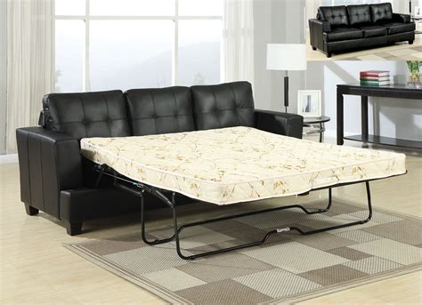 Black Leather Sofa Sleeper by Sofa Sleeper Black Leather Sofa Sleeper