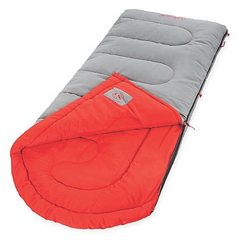 bed bath and beyond sleeping bags coleman dexter point sleeping bag in grey bed bath beyond