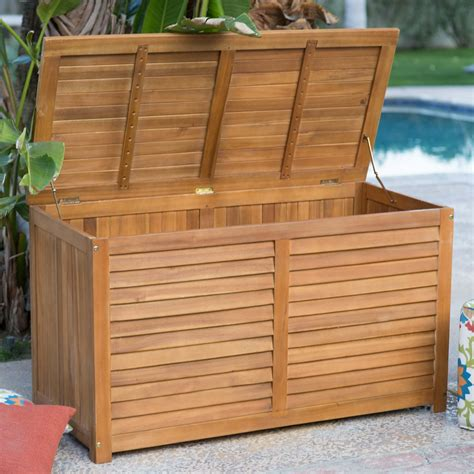 Deck Bin by Top 10 Types Of Outdoor Deck Storage Boxes